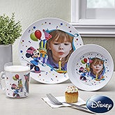 Personalized Disney Minnie Mouse Birthday Dinnerware - 13134D