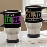 Personalized Travel Mugs - Law School Students - 13141