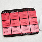 Personalized Calendar Mouse Pads - It's A Date - 13149