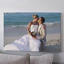 Custom Photo Canvas Print - Wedding Memories - 1316
