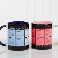 Personalized Calendar Coffee Mug - It's A Date - 13164