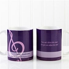 Personalized Teacher Coffee Mugs - Teacher Professions - 13172