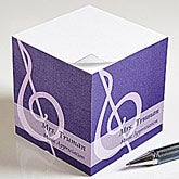 Personalized Sticky Note Cubes for Teachers - 13173