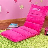 Personalized Hot Pink Adjustable Lounger  - 13187D