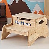 Personalized Step 'n Store Stool - 13191D