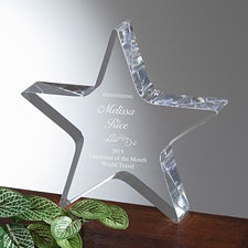 Personalized Awards - Star Of Excellence - 13194