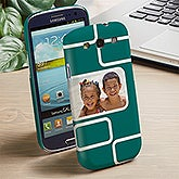 Personalized Samsung Galaxy 3 Photo Cell Phone Case - Modern Photo Collage - 13217