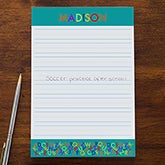 Personalized Kids Notepads - Alphabet Name - 13238