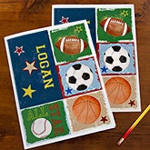 Ready, Set, Score Personalized Folders - Set of 2 - 13239