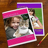 Photo Personalized School Folders - 13247