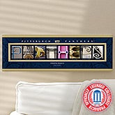 University of Pittsburgh Campus Photo Personalized Letter Art - 13261
