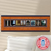 Personalized University of Illinois Campus Photo Letter Artwork - 13262