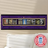Personalized Louisiana State University Campus Photo Letter Art - 13270
