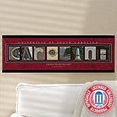University of South Carolina Campus Photo Personalized Letter Art - 13272