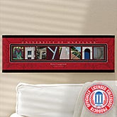 University of Maryland Personalized Campus Photo Letter Artwork - 13274