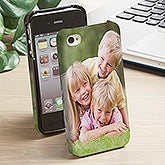 Personalized iPhone 4 Photo Cell Phone Case - 13280