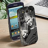 Personalized Samsung Galaxy 3 Photo Cell Phone Case - 13281