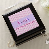 Personalized Kids Jewelry Box - Just For Her - 13284