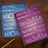 Name Personalized Large Notebooks-Set of 2 - 13286