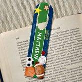 Personalized Sports Bookmarks - Ready, Set, Score - 13292