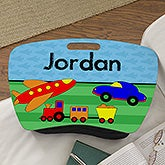 Personalized Boys Lap Desk - Planes, Trains & Cars - 13305