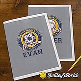 Personalized Kids Folders - Smiley Sports - 13316