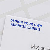Design Your Own Custom Return Address Labels - 13324