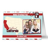Personalized Photo Christmas Cards - Holiday Greetings From - 13331