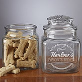 Personalized Dog Treat Jar - Doggie Diner - 13335