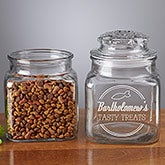 Personalized Cat Treat Jar - Kitty Diner - 13336