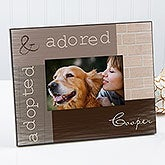 Personalized Pet Picture Frames - Adopted Pet - 13337