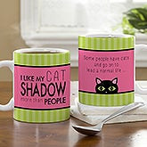 Personalized Pet Coffee Mugs - Cat Lover - 13346