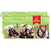 Personalized Christmas Photo Postcards - All About Christmas - 13376
