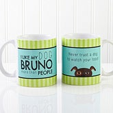 Personalized Pet Coffee Mugs - Dog Lover - 13386