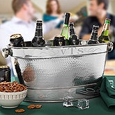 Personalized Party Tub - Initial Monogram - 13391