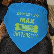 Personalized Dog Bandana - Property Of - 13394