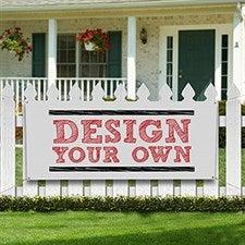 Custom Vinyl Banners - Design Your Own - 13397