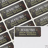 Personalized Address Labels - Chalkboard Greetings - 13403