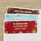 Christmas Address Labels - Season's Greetings - 13414