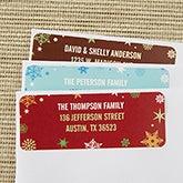Christmas Address Labels - Season's Greetings - 13414