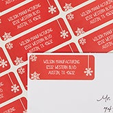 Personalized Holiday Address Labels - Thank You - 13418