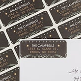 Personalized Return Address Labels - Tis The Season - 13419