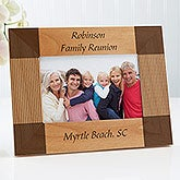 Personalized Wooden Picture Frame - Create Your Own Design - 1342