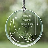 Personalized Baby Nursery Suncatcher - Lullaby Love - 13435