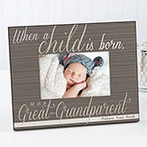 Personalized Great Grandparent Picture Frames - 13438