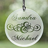 Circle of Love© Personalized Suncatcher