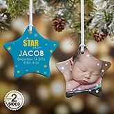 Personalized Baby Christmas Ornaments - A Star Is Born - 13446