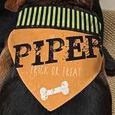 Personalized Dog Bandanas - Happy Halloween - 13461