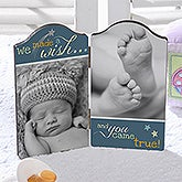 Personalized Baby Photo Plaques - We Made A Wish - 13466