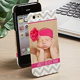Personalized Photo iPhone 5 Cell Phone Case - Picture Perfect - 13481